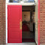 Blog logo red doors